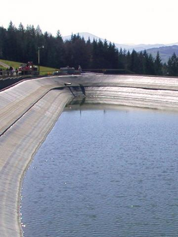 Retention reservoirs