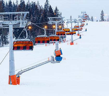 Up to 50% increased snowmaking efficiency